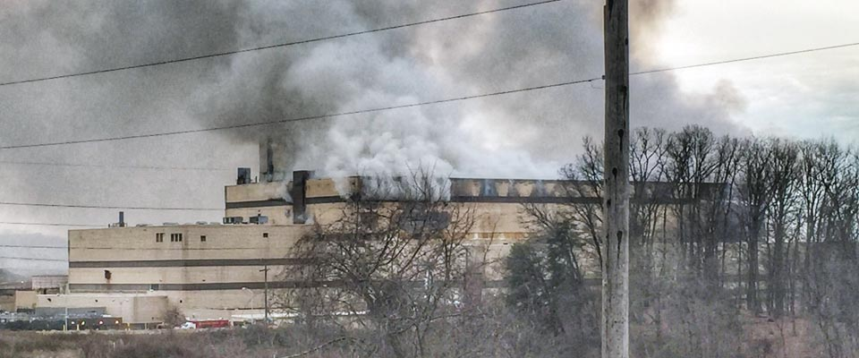 Fire at Northern Virginia Waste-to-Energy facility